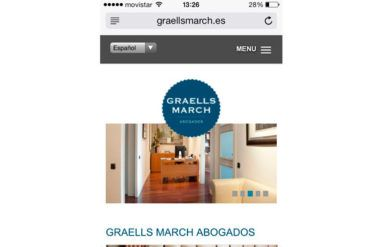 Responsive Design para Graells March