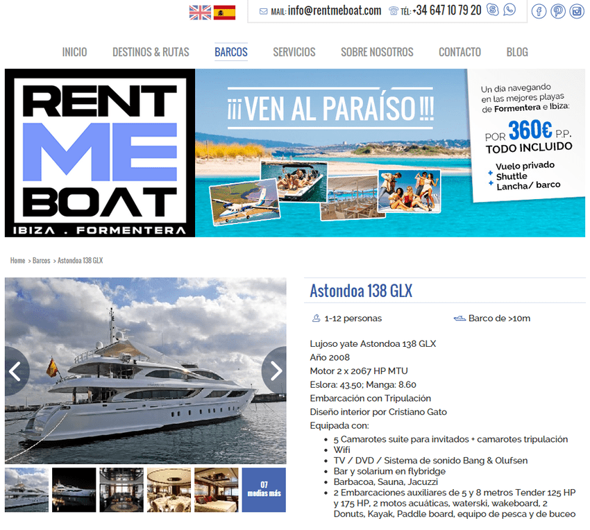 Web RentMeBoat