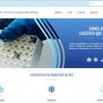 Nueva página web para Grupelog