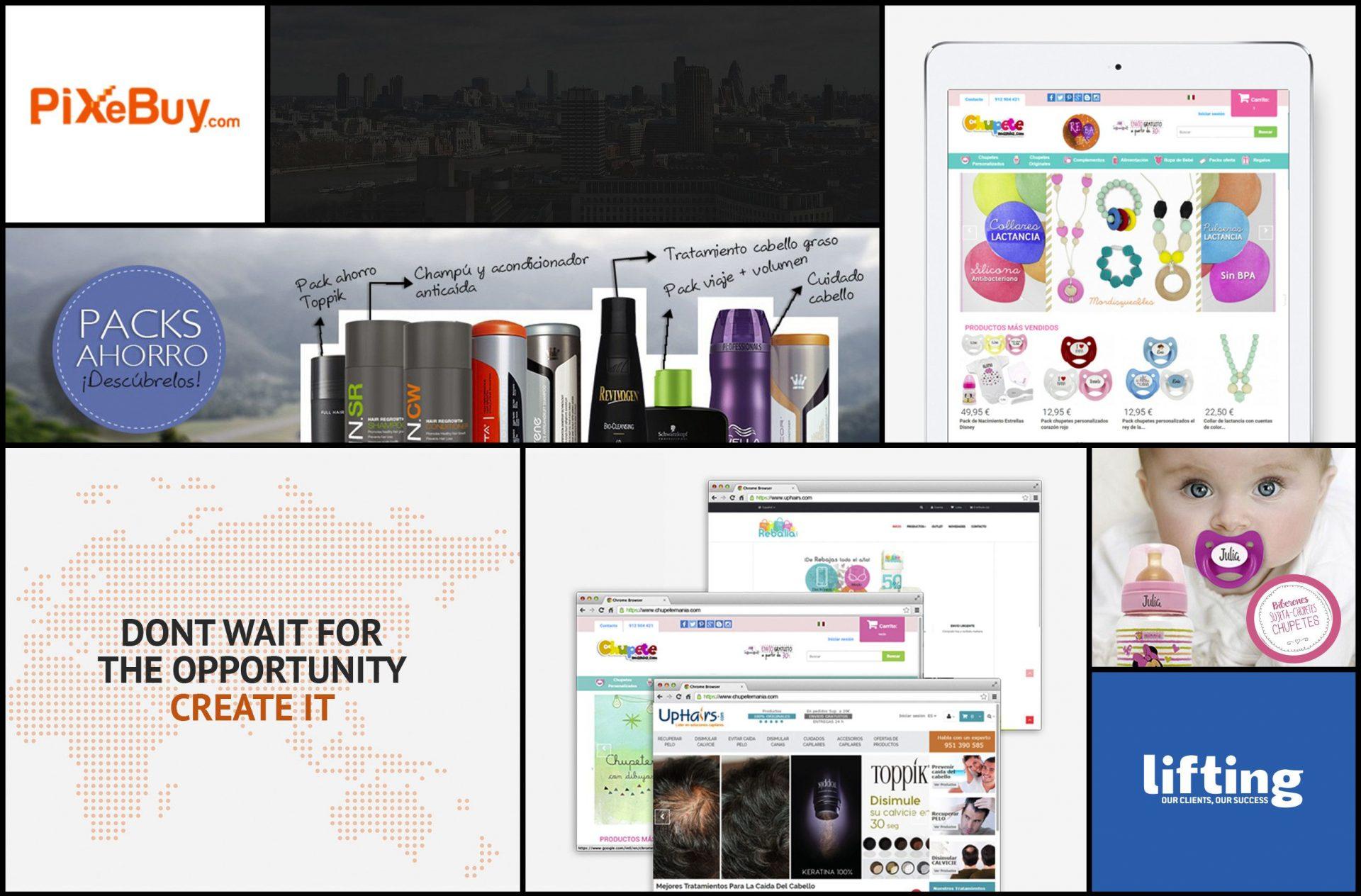 Caso de éxito Pixebuy Lifting Group Agencia de Marketing