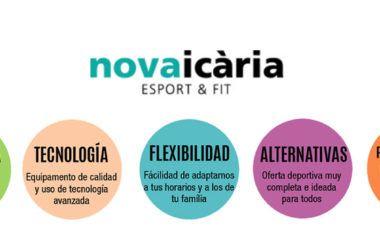 Nova Icària, nueva página web