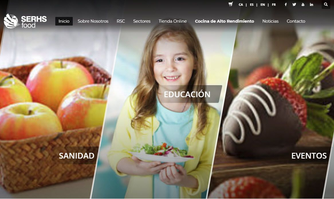 nuevo cliente de marketing outsourcinf serhs food Lifitng Group