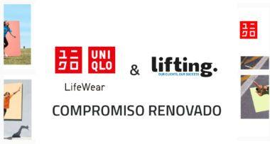 Lifting Group y Uniqlo, confirman su renovación como Agencia Social Media para España