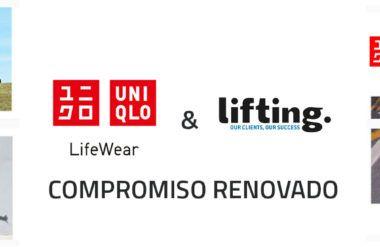 Lifting Group et Uniqlo, confirment leur renouvellement comme Agence de média sociaux pour l'Espagne