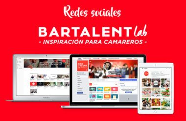 How does Lifting Group boost Bartalent Lab with a Social Media strategy?