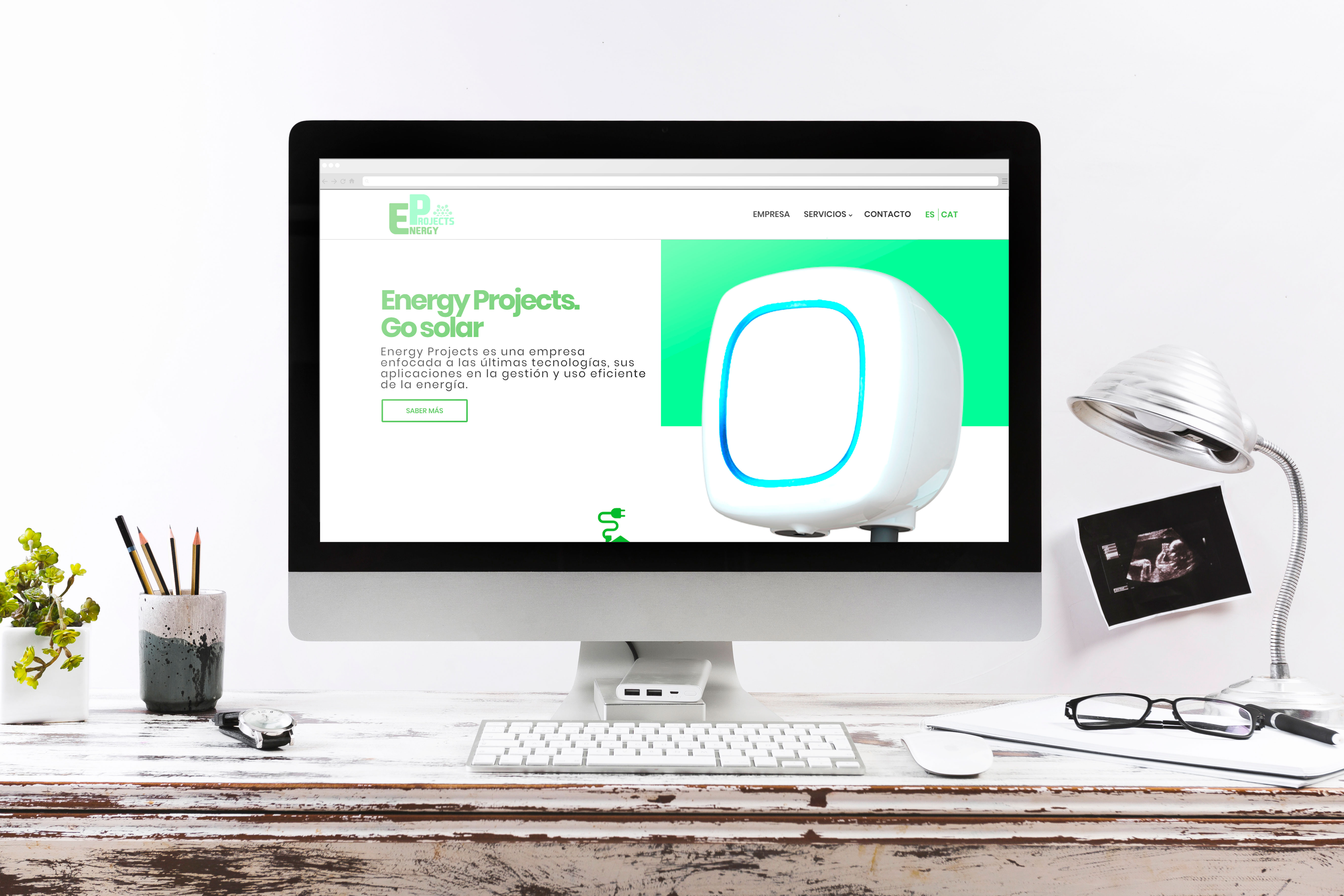 energy projects proyecto web