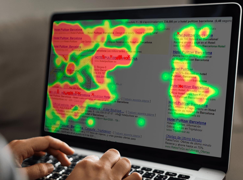Agencia UX - User Experience Mapas de calor