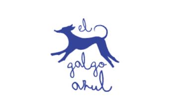 el galgo azul logo