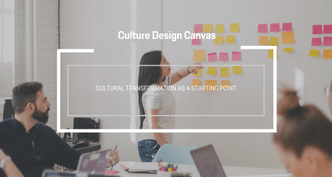 The Culture Design Canvas: Cultural transformation as a starting point.