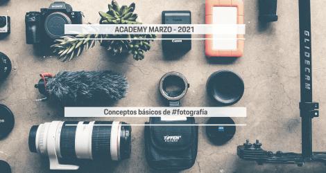 Lifting Academy. Todo lo que necesitas saber sobre los conceptos básicos de fotografía.