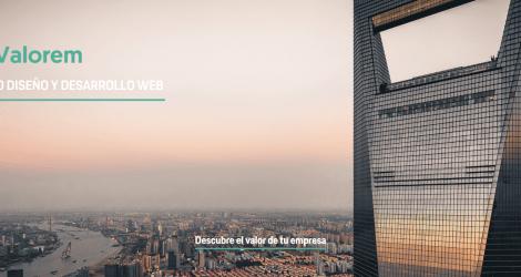 Valorem, la nueva herramienta de valoración de empresas,  ha confiado en Lifting Group para el desarrollo de su página web.