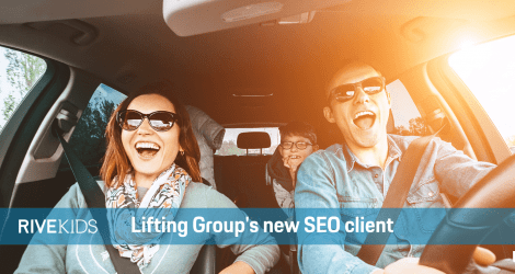 RiveKids, Lifting Group's new SEO client