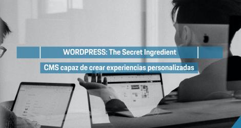 WordPress: Un poderoso CMS capaz de crear experiencias personalizadas