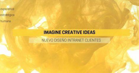 Nuestra agencia Imagine Creative Ideas ha creado una Intranet a medida para nuestros clientes